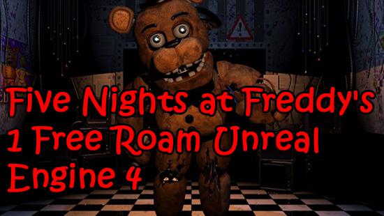 Free Roam Unreal Engine 4
