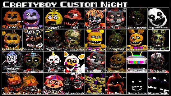 Craftyboy Custom Night game